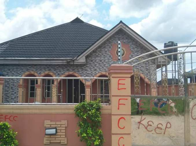 EFCC seals houses