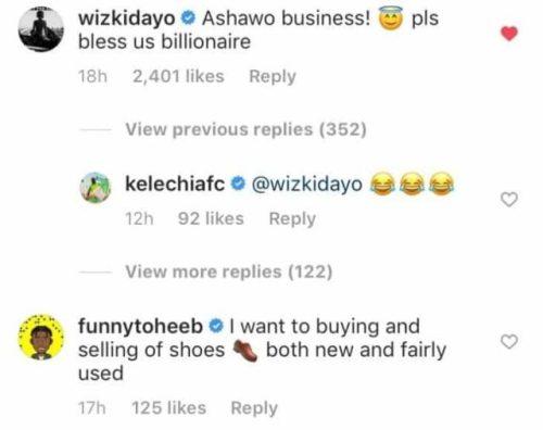 'I Want To Start Ashawo Business' - Wizkid Confesses To Teni 2
