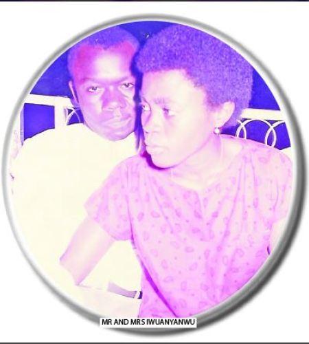 Mr and Mrs Iwuanyanwu