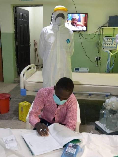 The student wrote examination in Gombe even after testing positive for coronavirus