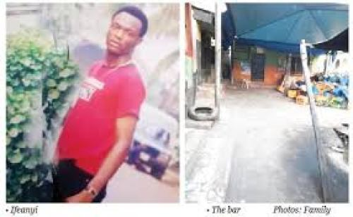 Footballer stabbed to death by a bar owner