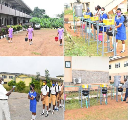 oyoschool1 - After 4 Months, Oyo Colleges Lastly Reopen (Photographs)