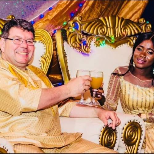 lovewed4 - Wow! Lovely African Bride Marries Her Oyinbo Lover (Pictures)