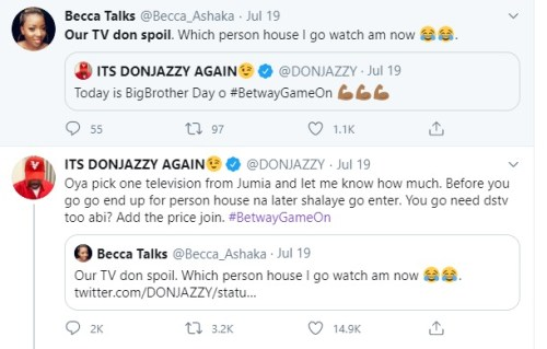 jazzy man1 - How Girl Received Free N200okay From Don Jazzy to Purchase TV and Decoder