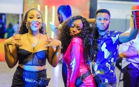 "Five Juicy Gists From #BBNAIJA"""" First Saturday Party (Photos)"
