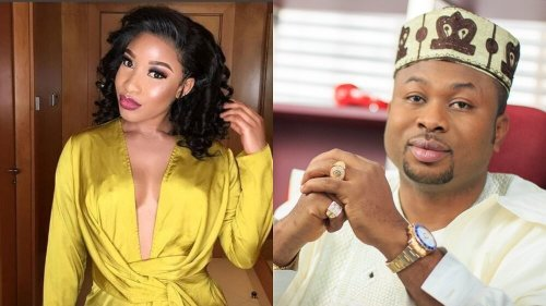 Tonto Dikeh, Olakunle Churchill Picture mix