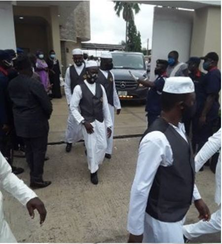 Ajimobi%20burial4 - Photographs Of Ex-Governor Abiola Ajimobi Being Laid To Relaxation In Ibadan (Photographs)