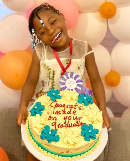 Davido gifts daughter gift to celebrate her graduation from kindergaten