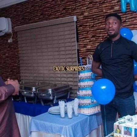 surprise birthday party