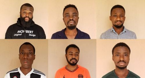 The internet fraudsters sentenced to prison by a court