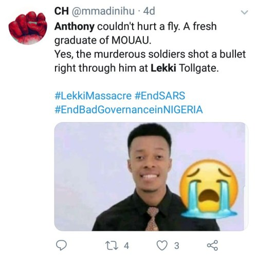 Woman Whose Son Died In The Lekki Shootings Speaks Up To Counter Claims That No One Died (Video)