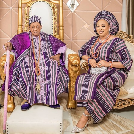 So Beautiful! Alaafin of Oyo's Wife, Queen Abbey Celebrates Her Birthday With Stunning New Photos