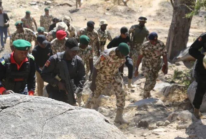 Nigerian soldiers buried