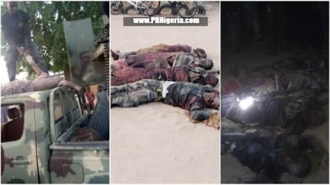 Boko Haram terrorists killed in Gwoza