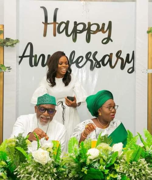 Akeredolu and wife celebrate 40th wedding anniversary