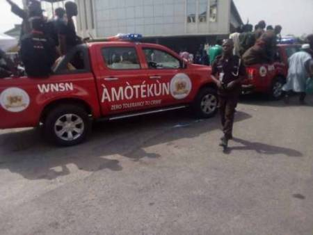 How Four Oyo Amotekun Operatives Landed In Intensive Care After Clash With Hoodlums