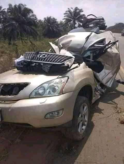 Medical Doctor And His Son Die In Fatal Road Accident 2 Months To His Wedding (Graphic Photos)