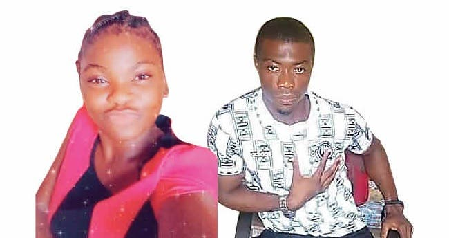 Esther killed her lover by setting him on fire