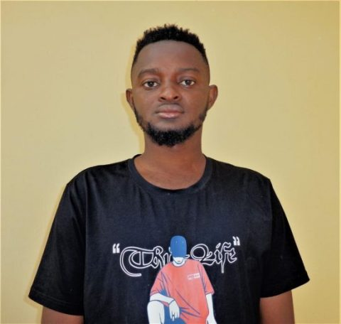 One of the students arrested by EFCC