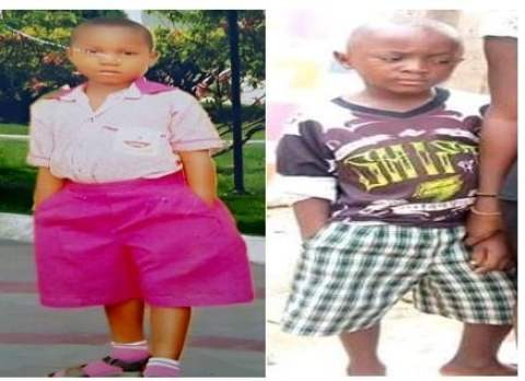 The two kids killed by their abductors