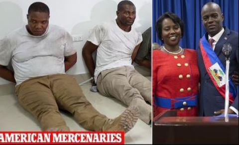 Assassins who reportedly killed Haiti President