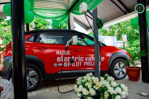 Electric vehicle charging station commissioned in Lagos