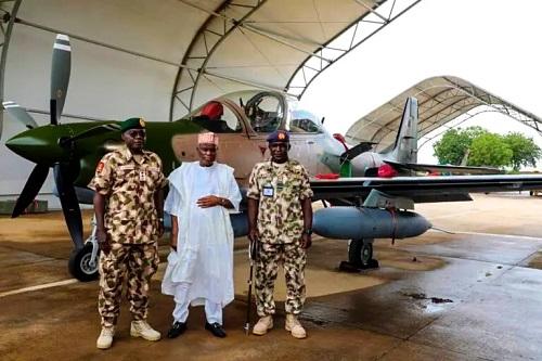 Super Tucano Aircraft arrives Nigeria