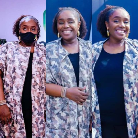 Adeosun resurfaced at an event in Lagos, two years after she resigned from office.