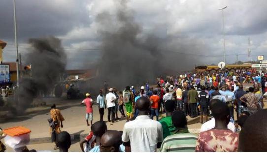 protest in Kwara against Fulani herdsmen