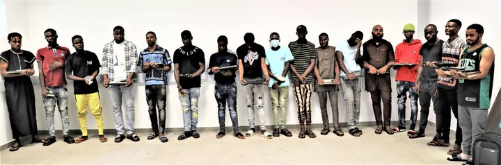 Fraudsters arrested in Niger state