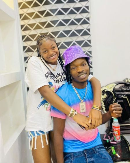 Naira Marley and sister