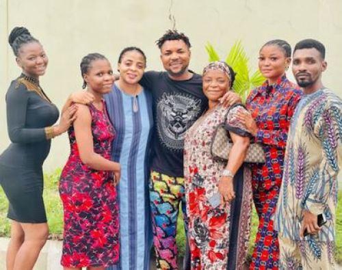 Oritsefemi and family