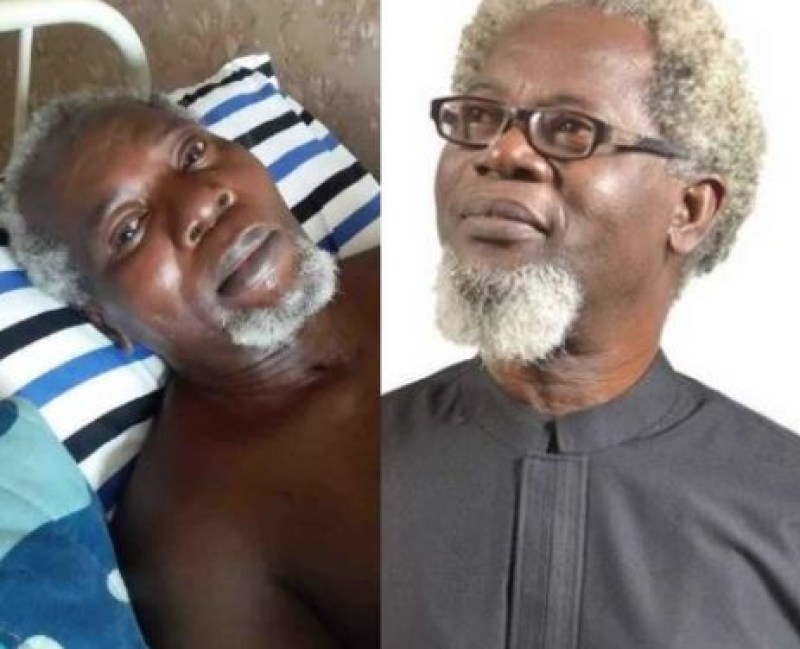 Veteran NIgerian and Nollywood actor Victor Olaotan