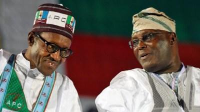 Image result for Buhari Tells Atiku
