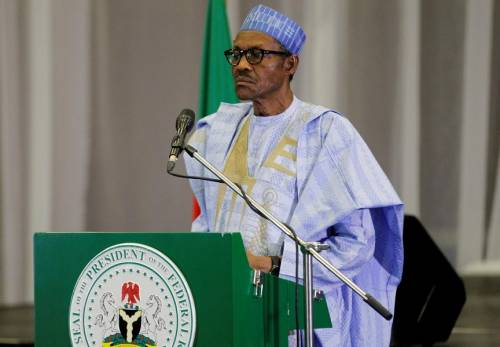 I Never Told EFCC To Stop Akpabio Probe - Buhari Speaks Out 1
