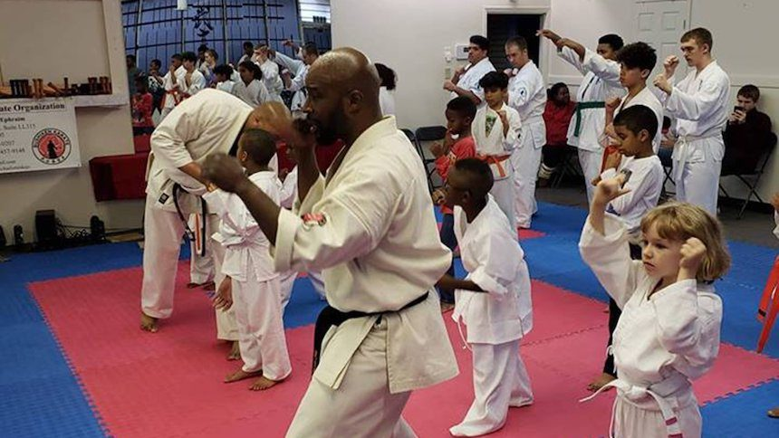 Kidnapper Chases Women Into A Karate Studio At Night...What Happened Next Is Really Dramatic 1
