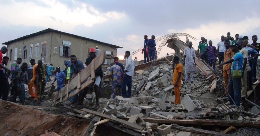 All Trapped Victims Have Been Rescued From Ibadan Building - Oyo Govt Declares 1