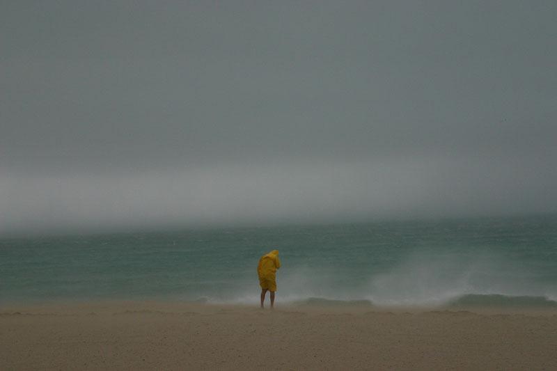 A picture I took on Miami Beach as Hurricane Katrina hit landfall. As seen on CNN.com