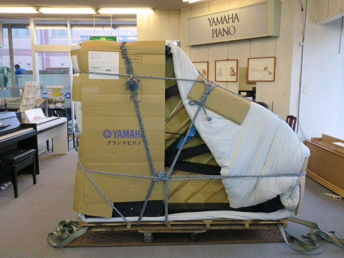 グランドピアノの運搬と梱包