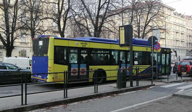 Torino, le linee GTT che variano il percorso l'8 e il 9 febbraio 2020