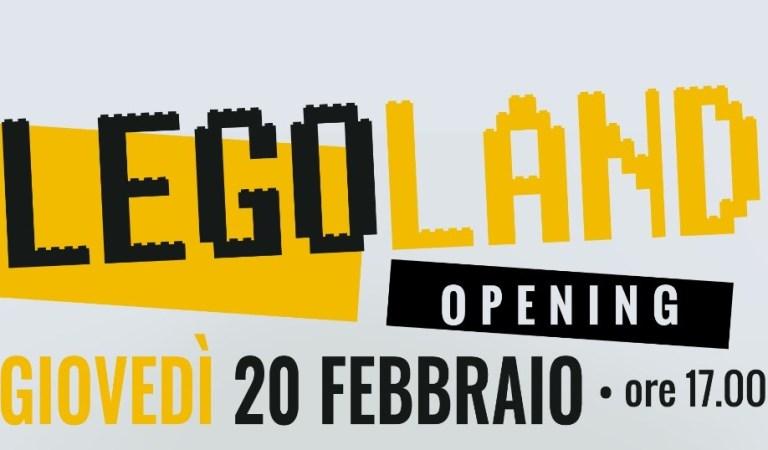 A Torino sbarca LEGOLAND OPENING. Una serata tutta dedicata ai famosi omini gialli. Per grandi e bambini