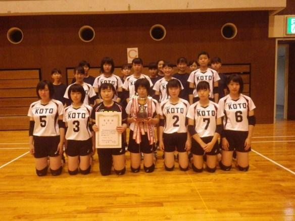 04 バレーボール女子(湖東中)