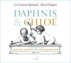 Joseph Bodin de Boismortier:Daphnis et Chloé Le Concert Spirituel – Hervé NiquetGlossa GCD 921605–2