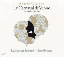 André Campra:Le Carnaval de Venise Le Concert Spirituel – Hervé NiquetGlossa GES 921622