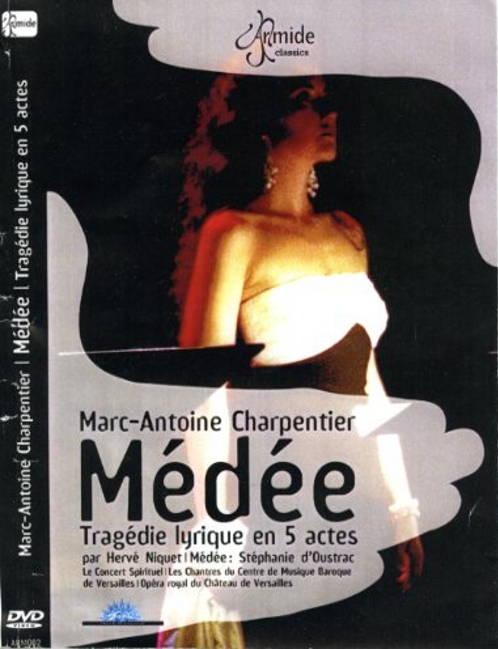 M-A. Charpentier:Médée, Tragédie LyriqueLe Concert Spirituel - Herve NiquetDVD Armide Classics