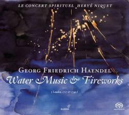 Georg Frideric HandelWatermusic & FireworksLe Concert Spirituel – Hervé NiquetGlossa GCD 921606