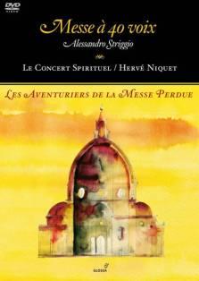 """""""Les Aventuriers de la Messe Perdue"""" (DVD)Le Concert Spirituel – Hervé NiquetGlossa 921624"""