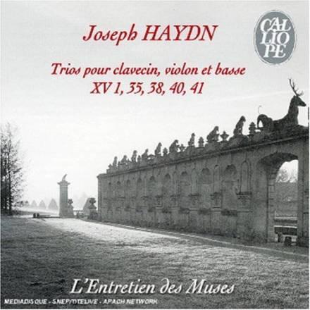 Joseph Haydn:Trios Hob. XV 1, 35, 37, 40, 41L'Entretien des Muses – Stéphane FugetCalliope CAL 9348