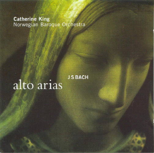 Johann Sebastian Bach: Alto AriasCatherine King Norsk Barokkorkester – Ketil HaugsandLinn Records CKD 158