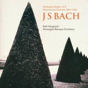Johann Sebastian Bach:Suites 1 & 2, Concerto BVW 1053Norsk Barokkorkester – Ketil HaugsandLinn Records CKD 181